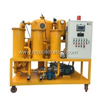 Double Stage Vacuum Transformer Oil Purifier Machine, Insulator Oil Filtration Plant Purification Treatment Cleaning