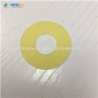 1 Packs=100pieces Offset Printing Machine Yellow Rubber Sucker Size 30x13x0.5mm China Post Free Shipping