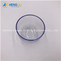 Heidelberg GTO Spare Parts OD 90mm Height 70mm Thickness 3mm Printing Clear Plastic Cup