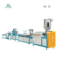 HSJ-45mm / 65mm HDPE / PVC Profile Making Machine