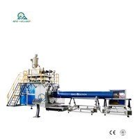 HSJ-80mm HDPE Large Diameter Water Supply Pipe Making Machine