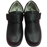 Boy's Leather Shoes with Rubber Sole