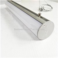 Circular Tube Aluminum Profile for LED Strip 1000mm Dia 60mm Ideal Application as Pendent Light In Office
