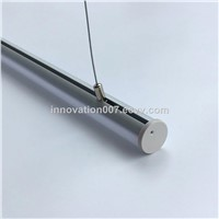 Circular Tube Aluminum Profile for LED Strip Used as Pendent Light Suspension Light Ideal Application In Office