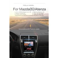 Car GPS for Mazda 6/Aentza 10.4 Inches Screen 5-Point Touch Android 6 System HD Video Play WiFi Bluetooth