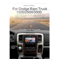 Car GPS Navigator for Dodge RAM Truck 1500/2500/3500 10.4 Inches Screen 5-Point Touch Android 6.0 System HD Video Play