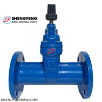 DIN3352 F5 PN16 Cast Iron Underground Square Head Gate Valve