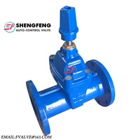 DIN3352 Resilient Seated Non-Ring Stem Ductile Iron Gate Valve F5