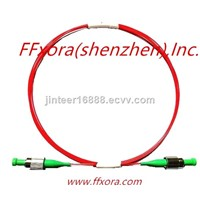 1, High Extinction Ratio Polarization Maintaining Optical Fiber Patch Cord with Connector.