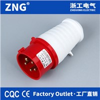 380V 16 Amp 5pin Industrial Plug, Power Plug 16A 3P+N+E Weatherproof