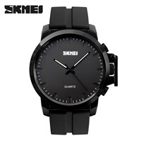 SKMEI 1208 Mens Watch Fashion Silicone Wrist Watch Waterproof Quartz Watch