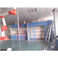 CE Approved All Steel Fuming Cabinet Walk-In Laboratory Fume Cupboard Floor Mounted Lab Fume Hood