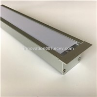 2019 New Design Aluminum Profile for LED Strip Light Recessed Mounted Aluminum Channel LED Extrusion 1000mm