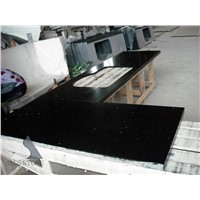 Black Quartz Kitchentop Absolute Black Stone