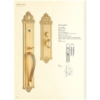 Solid Brass Mortise Door Handle Door Lock (W16)
