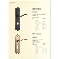 Solid Brass Mortise Door Lock E05-95