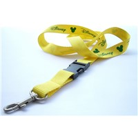 Lanyard Strap Polyester Material with Custom Logo Printed
