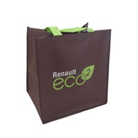 Non Woven Bag, Made from Sturdy Premium Quality Non-Woven Material 100% Recyclable & Reusable, with Your Brand Printed.