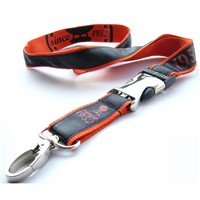 Lanyard Strap Polyester Material, with Custom Logo Printed, Ideal Giveaway for Tradeshows, Business Events Or School