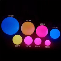 most Popular RGB LED Ball for Swimming Pool/Garden Decoration & Other Event At Night