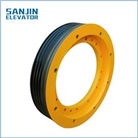 Elevator Traction Wheel, Elevator Sheave, Elevator Parts