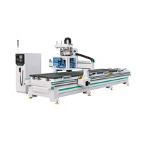 4X8 Feet Woodworking CNC Router Machine for Sale with Double-Working-Table
