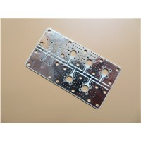 4 Layer Hybrid PCB on RO4003C + RO4450B + FR4 Combined