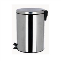 5L / 30L Classic Design Foot Pedal Stainless Steel Dustbin, Waste Bin