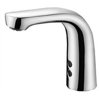 Smart Brass Auto Touchless Hands Free Electric Infrared Sensor Water Tap Brass Bathroom Basin Automatic Sensor Faucet