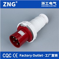 5 Pin 400v 63a Industrial Waterproof Plug Ip67