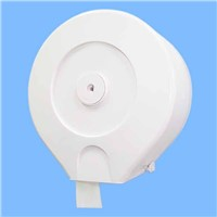 Plastic Jumbo Roll Tissue Dispenser, Mini Jumbo Toilet Roll Dispenser with Lock