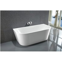 Stand Alone Simple Acrylic Bathtub