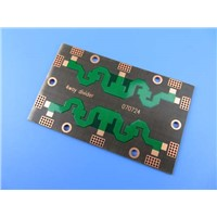 High Frequency PCB Bare Board | 10 Mil RO4350B Printed Circuit Board | Immersion Gold HF PWB