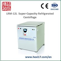 LRM-12L Low Speed, Super Capacity, Refrigerated Lab Centrifuge Machine