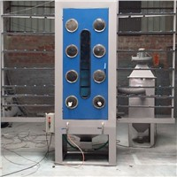 Manual Vertical Glass Sandblasting Machine