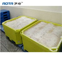 ROTA Insulated Fish Bin 1000L Large Rotomold Plastic Insulated Fish Tub