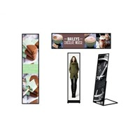 Ultra Slim & Light Weight Digital LED Poster