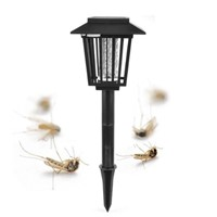 Solar Electronic Insect Flies Mosquito Killer Light with LED