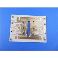 4 Layer High Frequency PCB Built on RO4350B & RO4450B