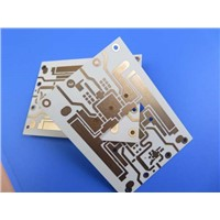 Microwave PCB Built on 1.6mm RO4350B with Gold Finish