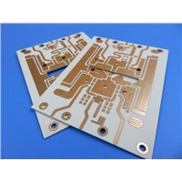 Double Sided Microwave PCB Made on RO4350B with Immersion Gold Finish