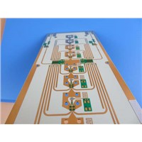 Hybrid PCB | Mixed Material PCB Built on 20 Mil RO4350B Plus FR-4 with Blind Via
