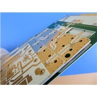 High Frequency PCB on 10 Mil RO4350B with Immersion Gold for Radar Detector