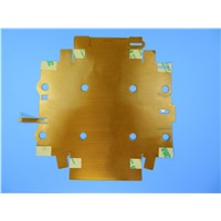 Double Sided Flexible PCB Board with 0.15mm Thick & Immersion Gold