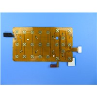 4 Layer Flexible PCB Board FPC Polyimide PCBs with 2 Oz Copper