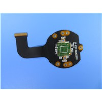 Double Layer FPC Flexible Circuit Board with FR4 as Stiffener for Gigabyte Switch