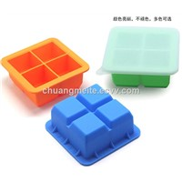New Style Eco-Friendly Home Tools Silicone Ice Cube Tray Mould