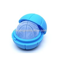 Eco-Friendly Bar Hotel Promotional Round Shaped Interstellar Silicone Ice Ball Ice Tray