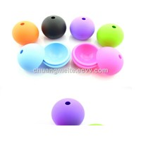 Fashion Pure Round Shaped Food Grade Silicone Ice Ball Ice Mould