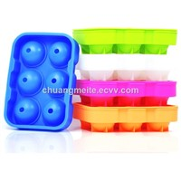 Food Grade New Type 6-1 Square Silicone Ice Tray Mould